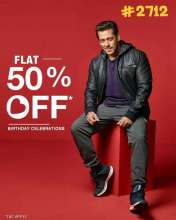 Being Human Salman Khan Birthday Celebrations - Flat 50% off only on 27 December 2017