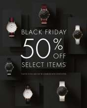 Black Friday Sale - Up To 50% off at Daniel Wellington