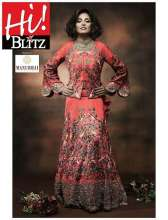 Bipasha Basu in Manubhai Jewellers for Hi Blitz Magazine, June 2016